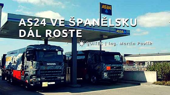 AS24 ve Španělsku dál roste