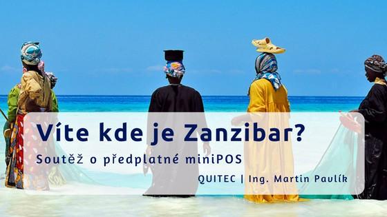 Kde je sluncem zalitý Zanzibar