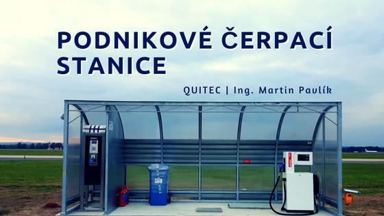 Podnikové čerpací stanice odfirmy Quitec